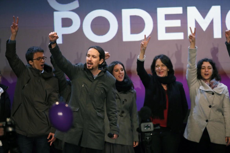 Spagna, Podemos esulta dopo le elezioni