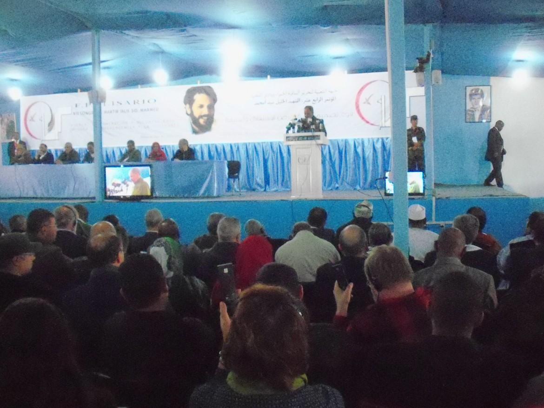 Dakhla, Algeria, durante i lavori del 14° congresso del Fronte Polisario