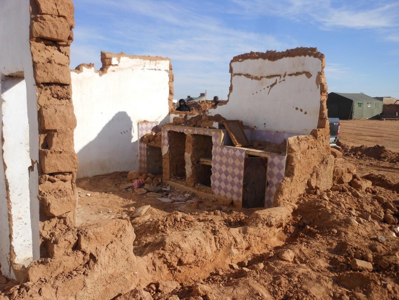 Gli effetti delle piogge torrenziali a Dakhla