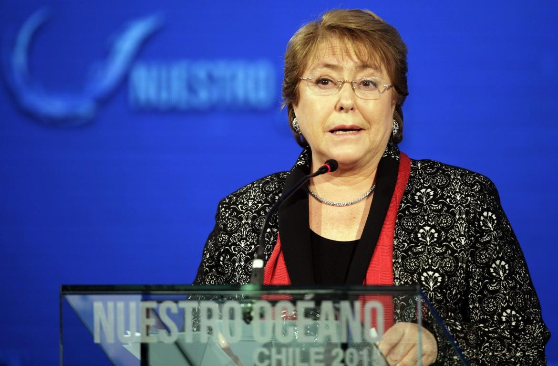 La presidente cilena Michelle Bachelet