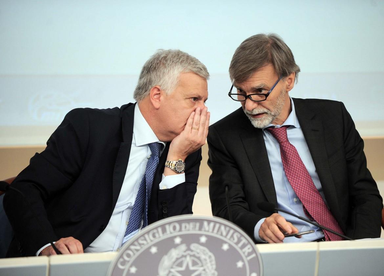 I ministri Galletti e Delrio