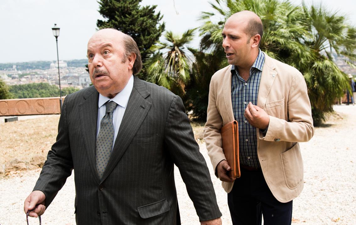 Lino Banfi e Checco Zalone