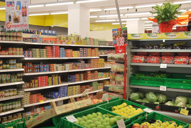 Raccolta nei supermercati