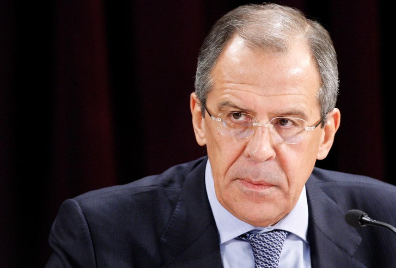 Il ministro degli Esteri russo Serhei Lavrov