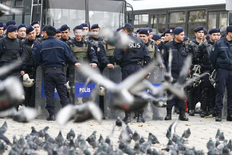 La polizia turca