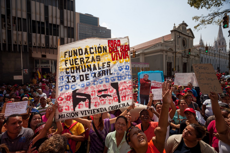 Venezuela, manifestazione delle Comunas