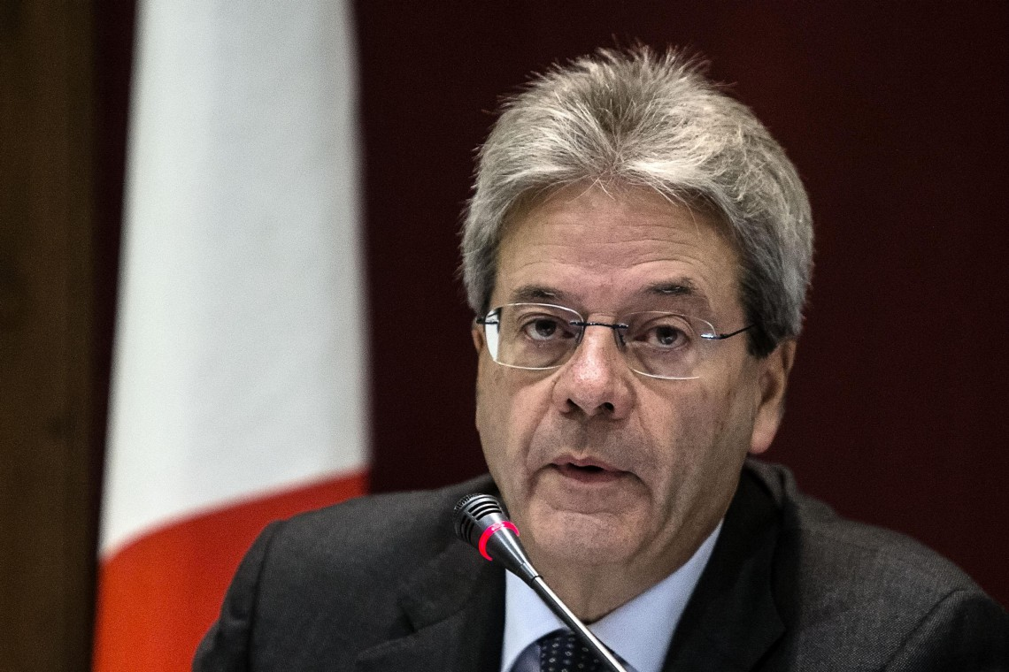 Il ministro degli Esteri, Paolo Gentiloni