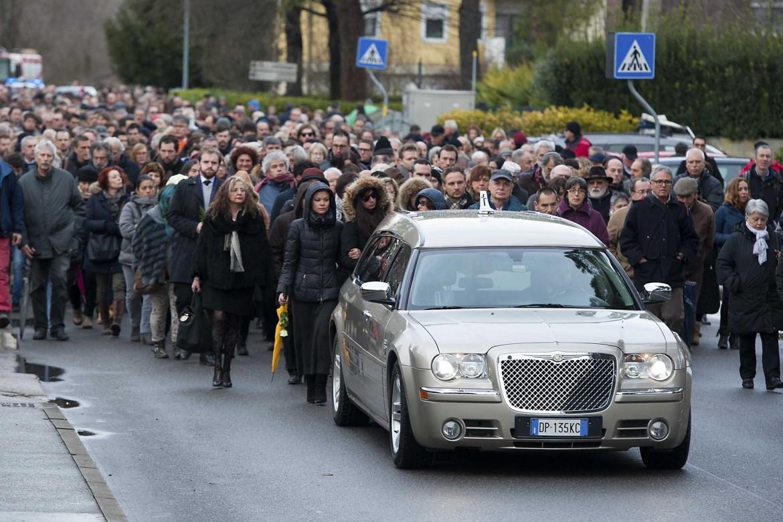 I funerali di Giulio Regeni a Fiumicello (Udine)