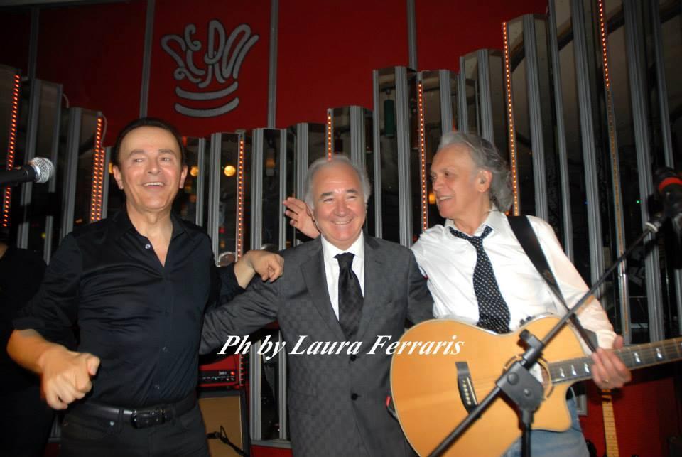 Dodi Battaglia, Toni Campa, Riccardo Fogli - Le Roi Music Hall, 2014