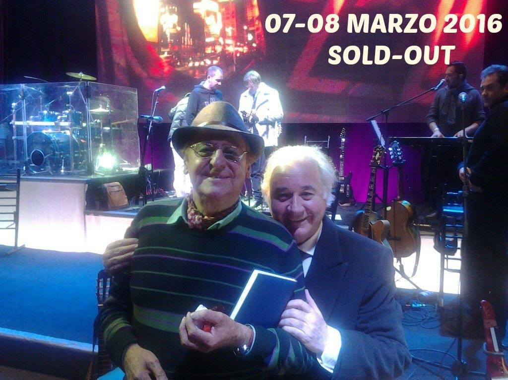 Renzo Arbore e Toni Campa