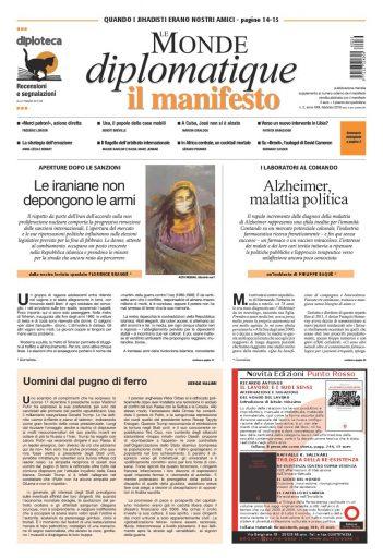 Le Monde diplomatique di febbraio 2016