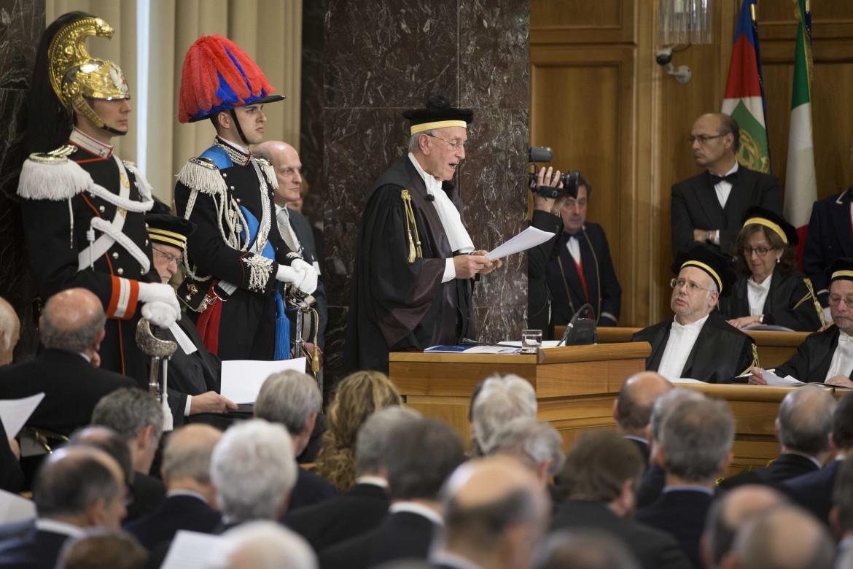 Il presidente della Corte dei Conti Raffaele Squitieri