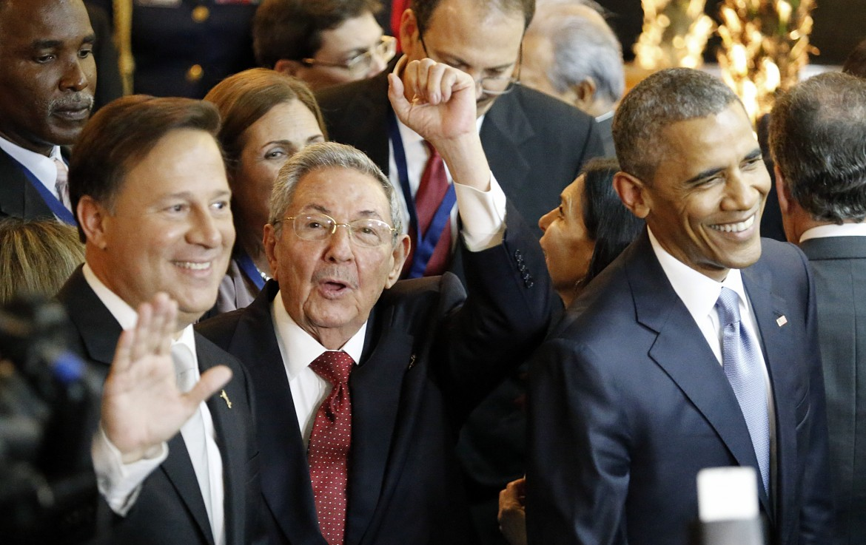 Raul Castro e Obama