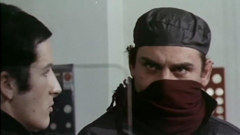 Gian Maria Volonté come Piero Cavallero nel film di Carlo Lizzani «Banditi a Milano», 1968