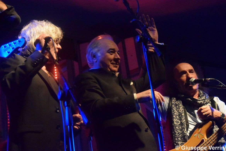 Toni Campa e i Camaleonti. Foto di Giuseppe Verrini