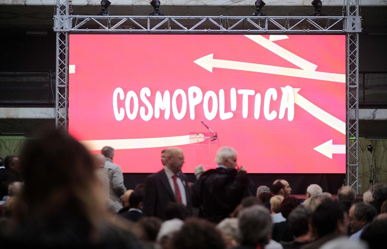 Un'immagine della prima assemblea di Sinistra Italiana
