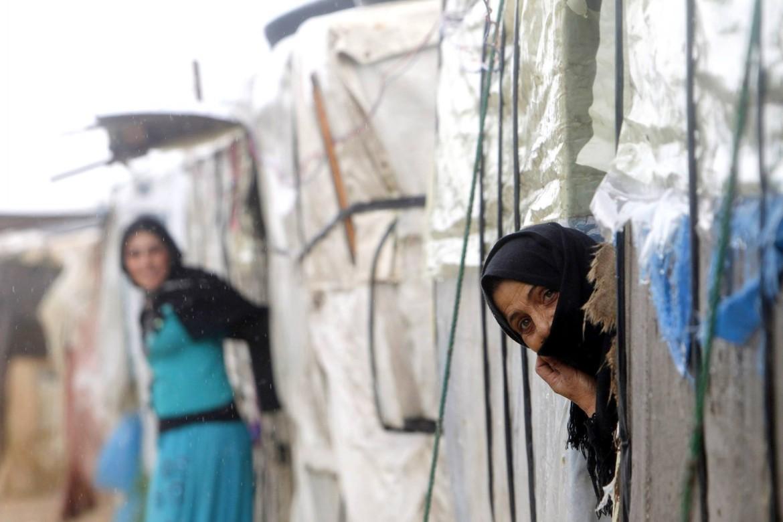Il campo profughi di Robar, Afrin, Siria settentrionale