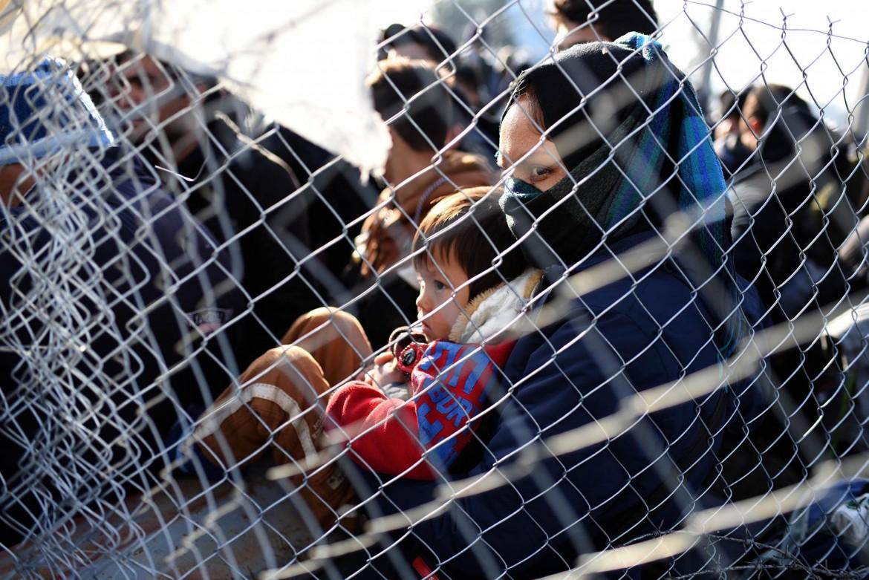 Al confine tra Grecia e Macedonia