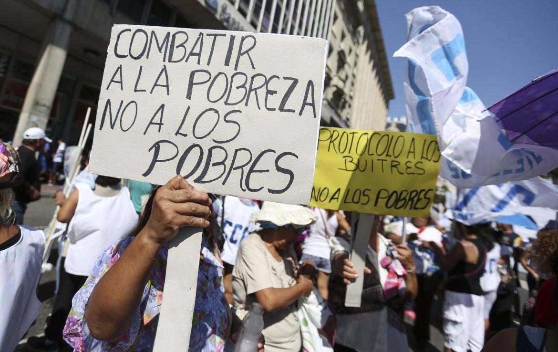 Le proteste contro la presidenza Macri