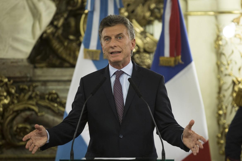 Il presidente argentino Macri