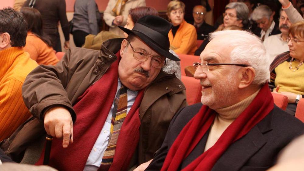 Umberto Eco e Gianni Coscia