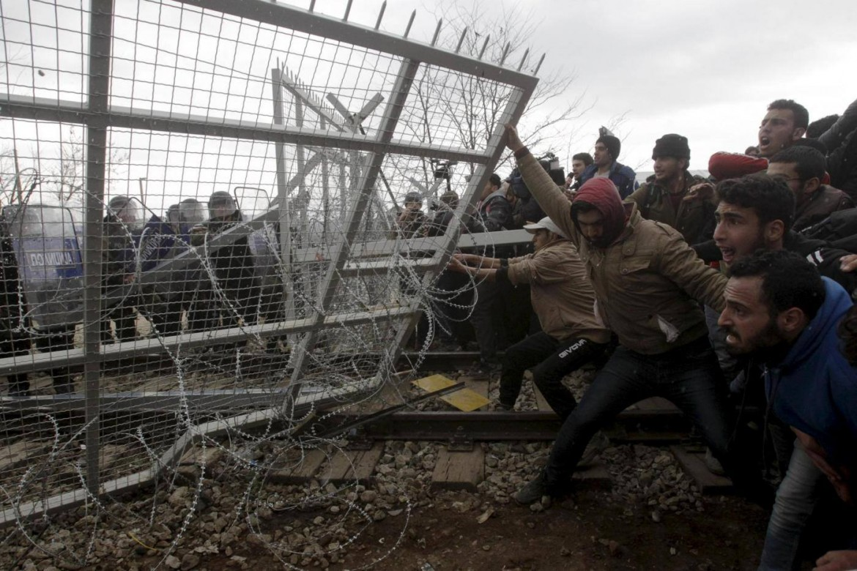 Contro la fortezza Europa, al confine Greco-Macedone
