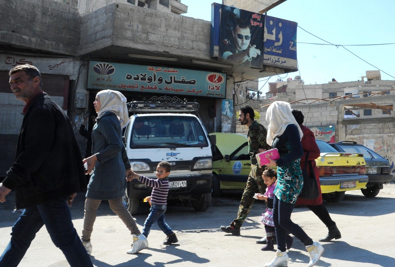 Siriani a Damasco