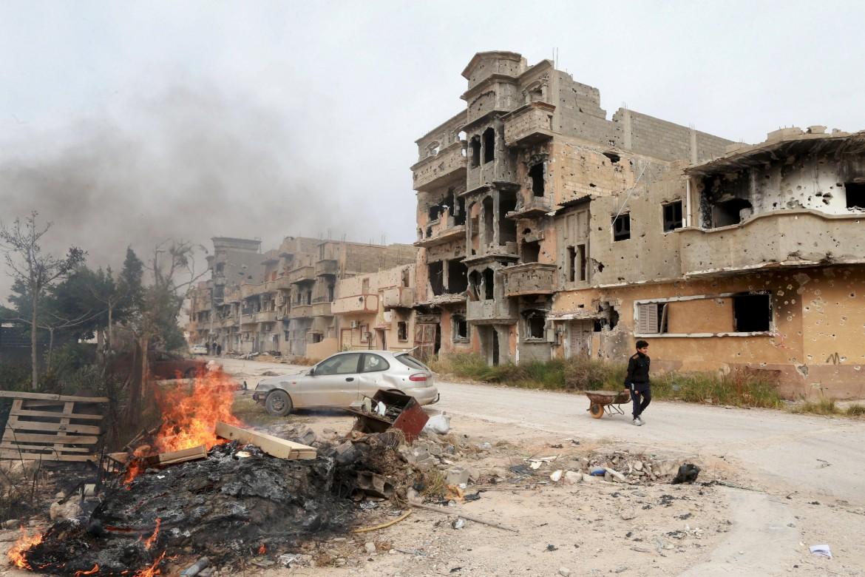 La città libica di Bengasi