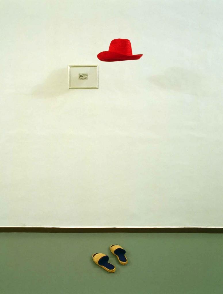 Gino De Dominicis, «Statua invisibile», 1979, foto Claudio Abate