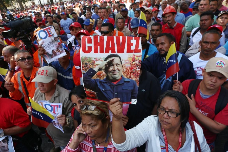 Caracas, manifestazioni in ricordo di Chavez