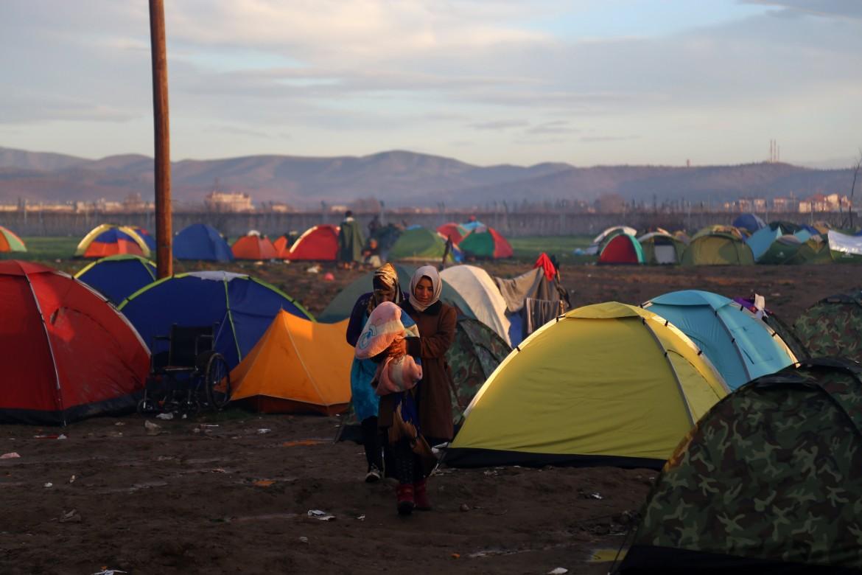 L'accampamento di Idomeni