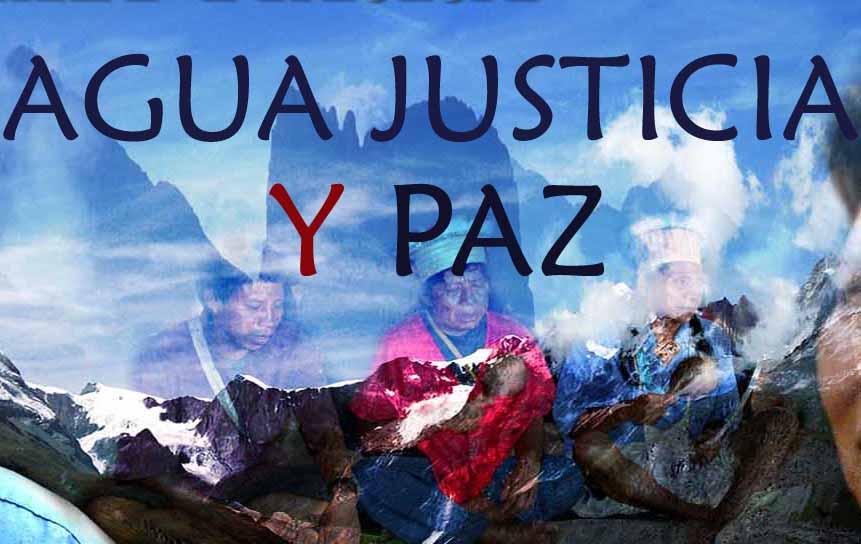 Colombia, la campagna Acqua, giustizia e pace