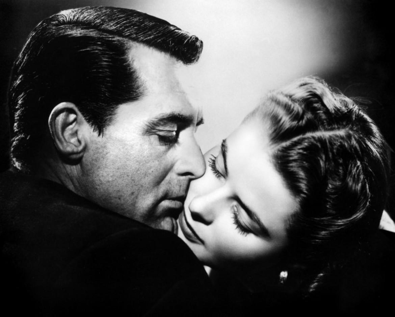 Cary Grant e Ingrid Bergman in Notorius