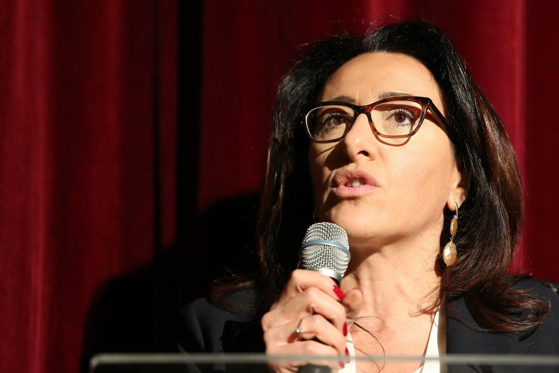 La vincitrice delle primarie a Napoli, Valeria Valente
