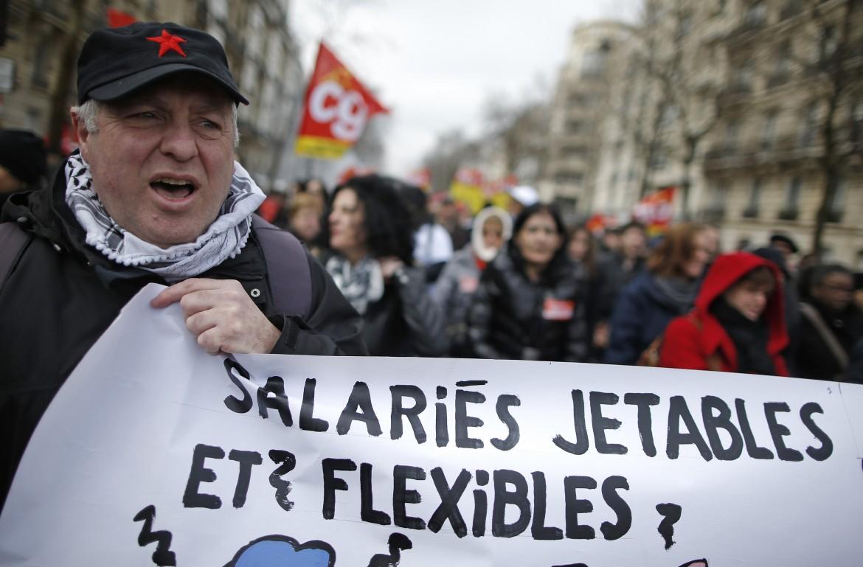 La manifestazione di ieri a Parigi