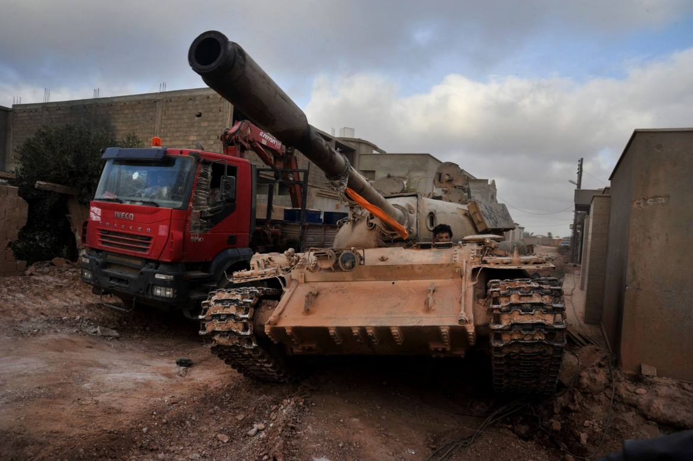 Milizie pro-governative a Bengasi