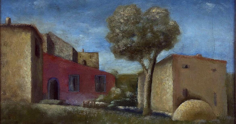 Carlo Carrà, «Il leccio», 1925, Milano, Museo del Novecento