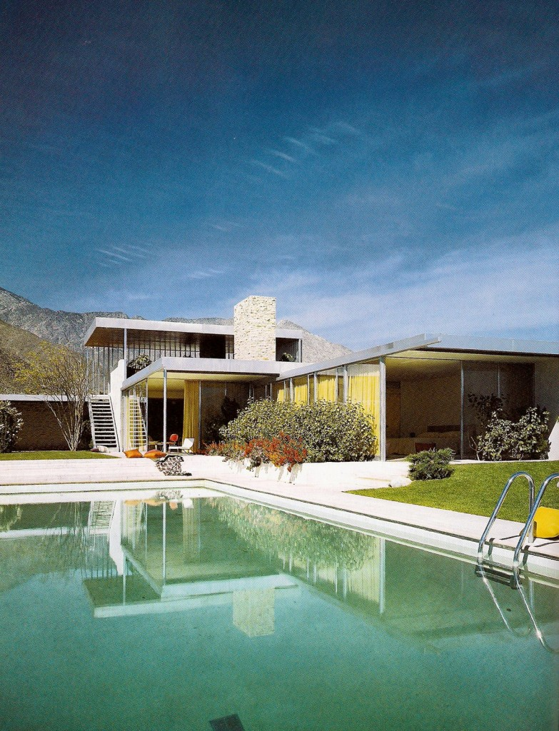 Richard Neutra, Casa Kaufmann, Palm Springs, California, 1946-'47