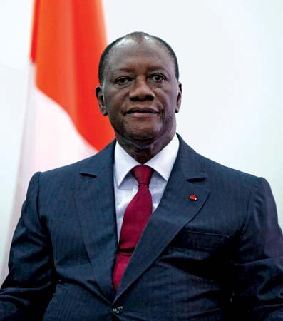 Il presidente ivoriano Ouattara