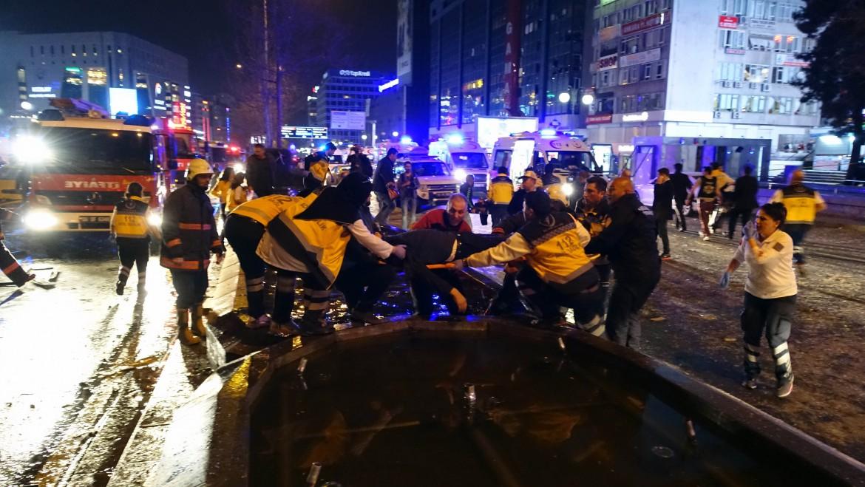 L'attentato di ieri ad Ankara