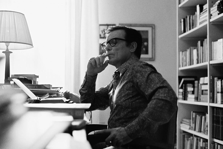 Massimo Ranieri come Pasolini ne «La macchinazione»