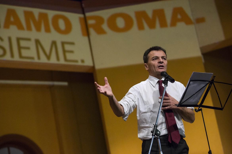 Stefano Fassina, deputato di Sinistra italiana e candidato sindaco a Roma
