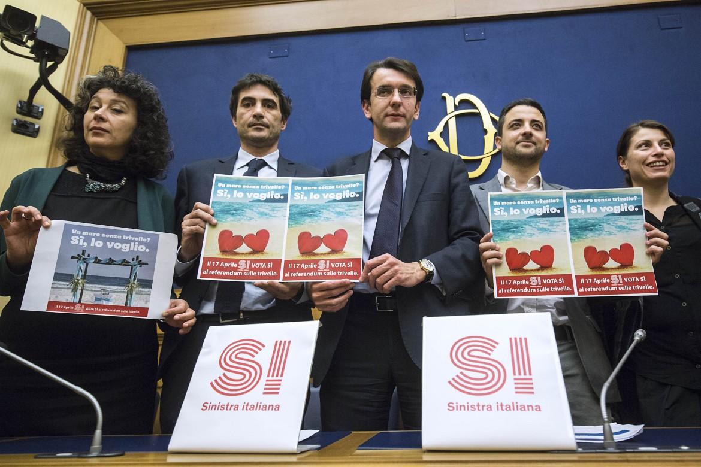 Sinistra italiana lancia la campagna per il Sì al referendum