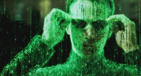Dal film dei fratelli Wachowski «Matrix»