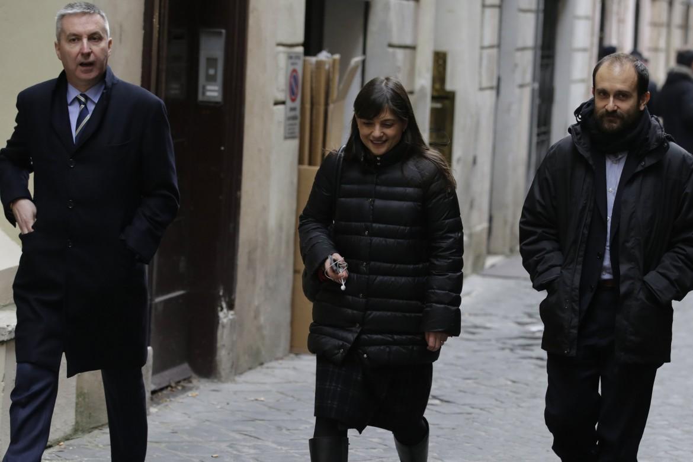 Lorenzo Guerini, Debora Serracchiani e Matteo Orfini