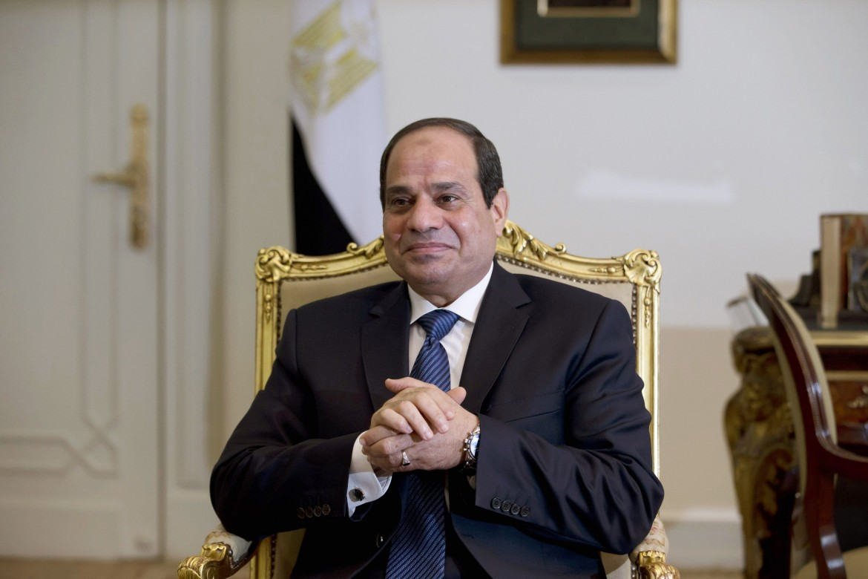 Il presidente dell'Egito al-Sisi