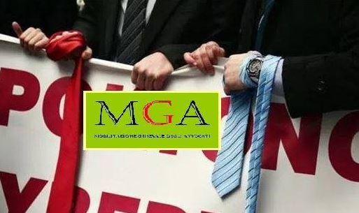 avvocati esercito in cravatta