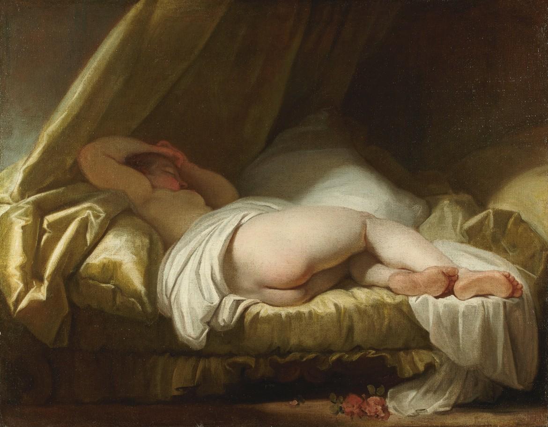 «Giovane che dorme», collezione privata