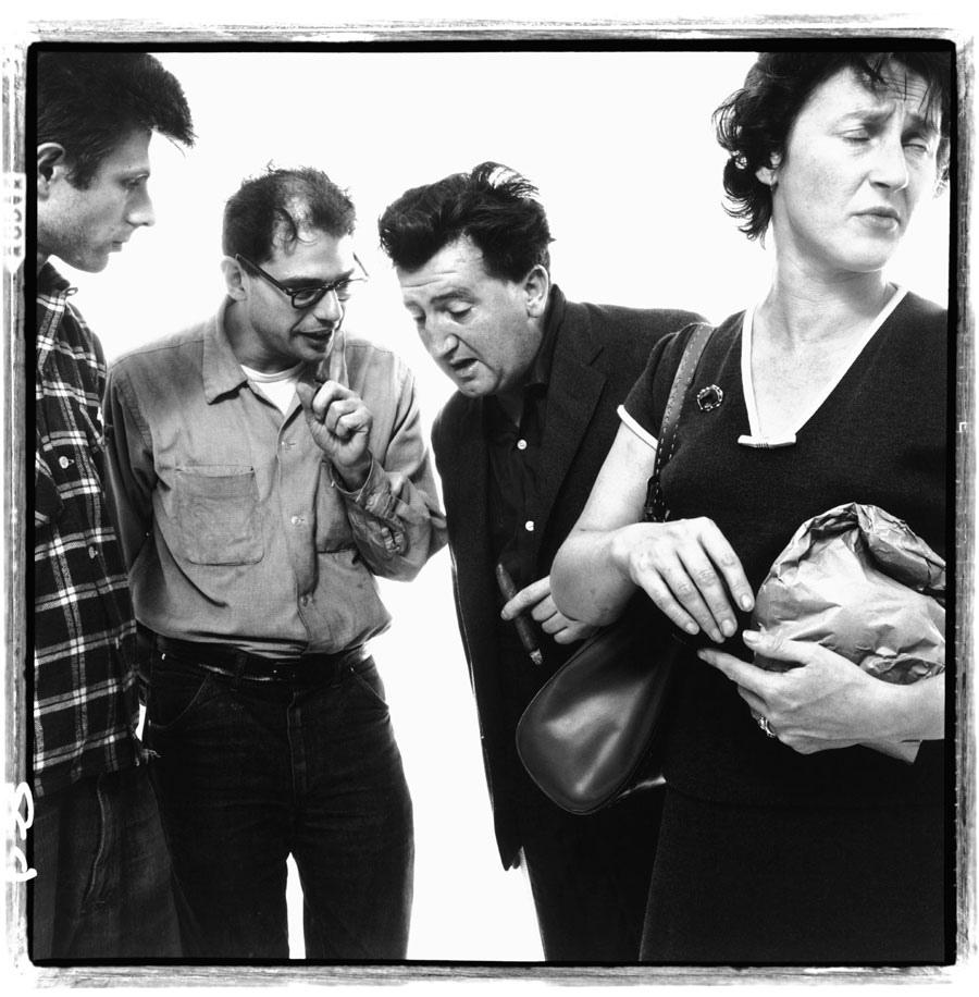 Peter Orlovsky, Allen-Ginsberg, Brendan-Behan e Beatrice Ffrench-Salkeld