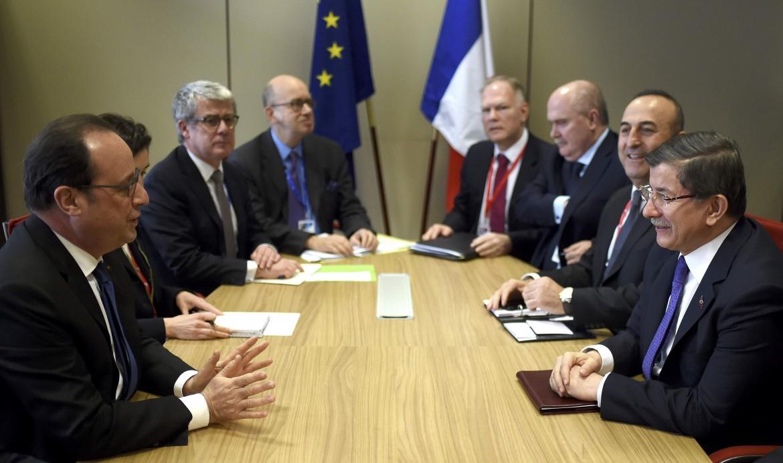 Bruxelles, il tavolo negoziale tra Unione europea e Turchia